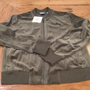 NEW Women's Puma Velour Jacket